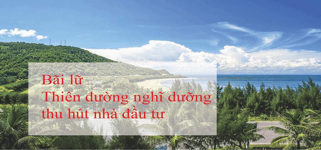 Bãi Lữ Nghệ An – Thiên đường nghĩ dưỡng hấp dẫn nhà đầu tư