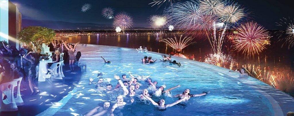 Bể bơi Condotel Panorama Nha Trang