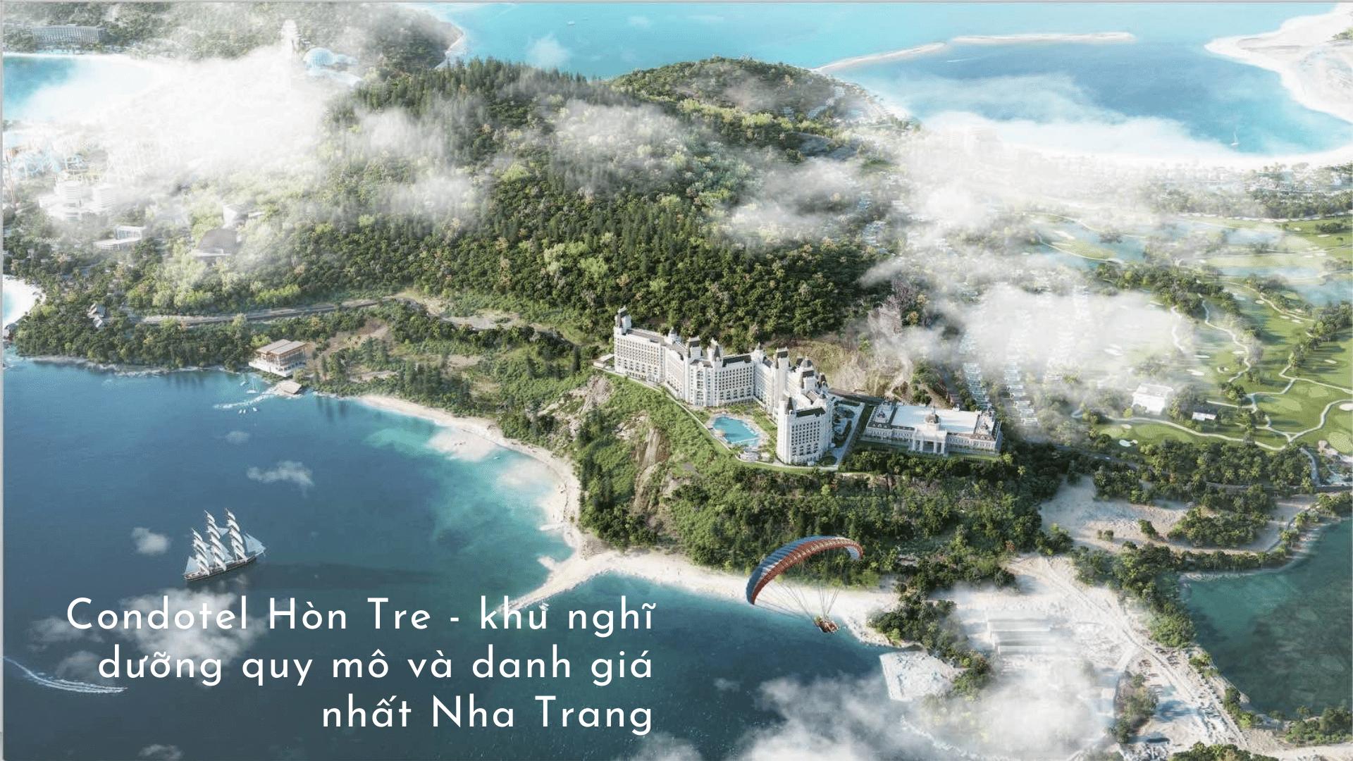 Condotel Hòn Tre khu nghỉ dưỡng quy mô và danh giá nhất Nha Trang