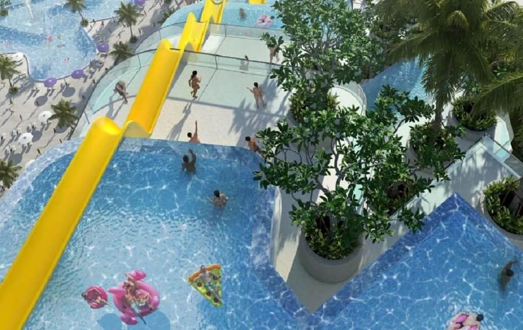 Hồ bơi Condotel The Arena Cam Ranh