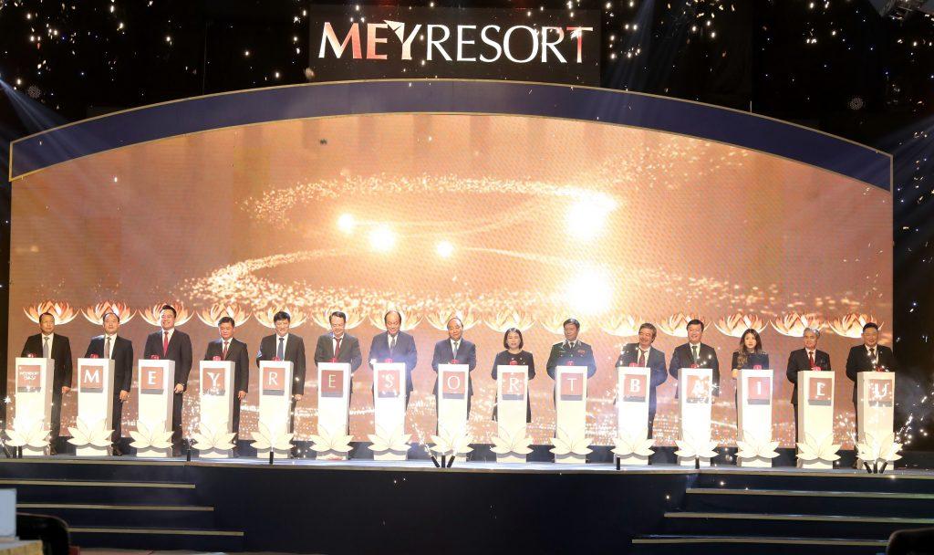 Lễ khởi công Meyresort Bãi Lữ Tập Đoàn Tân Á Đại Thành
