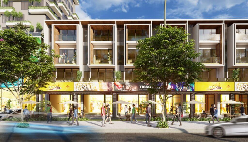 Shophouse Cồn Khương Diamond City