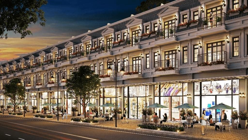 Shophouse Mercury Quý Hải Phú Quốc