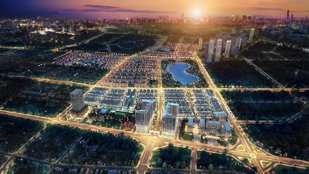 Qui mô khu đô thị Dương Nội