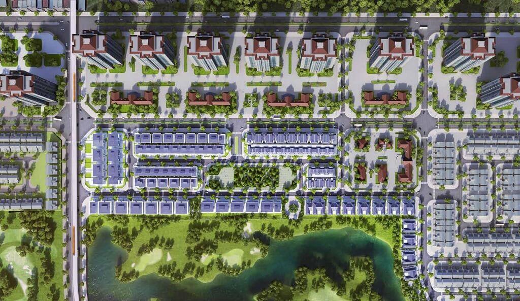 Quy mô khu đô thị Ciputra