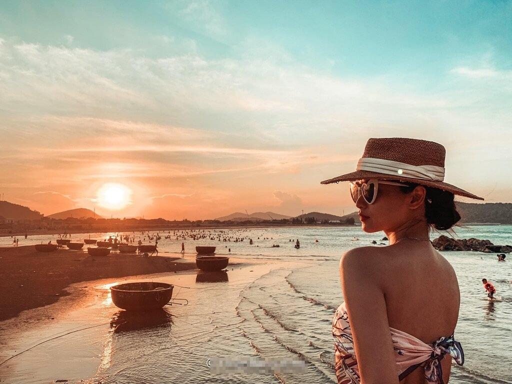 Biển Cửa Lò một trong những bãi biển đẹp của miền Trung nắng gió